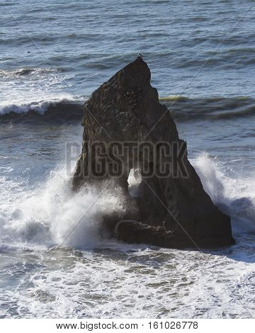 Rock With A Hole