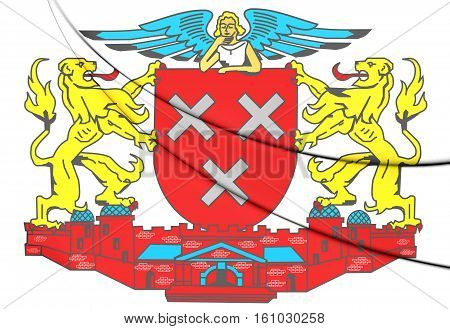 Breda Coat Of Arms (north Brabant), Netherlands.