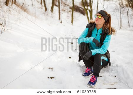 Girl Dressed Up For Winter