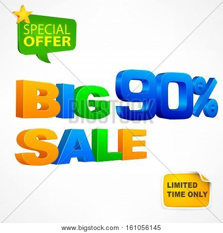 Big Sale Inscription 90%