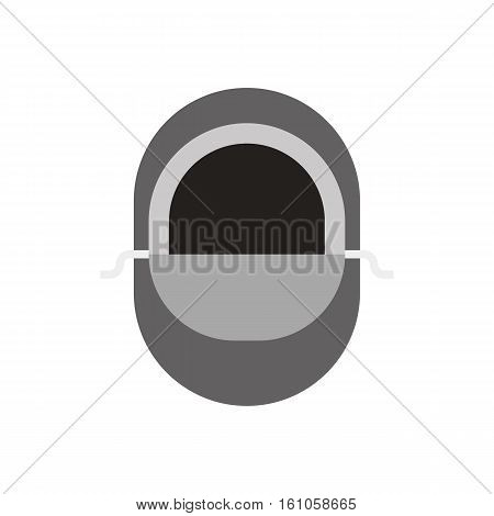 Snowboarder balaclava vector illustration. Winter wear for active lifestyle.