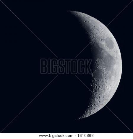 Quarter Moon Detail