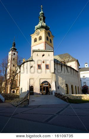 Town Castle (Barbakan), Banska Bystrica, Slovakia poster