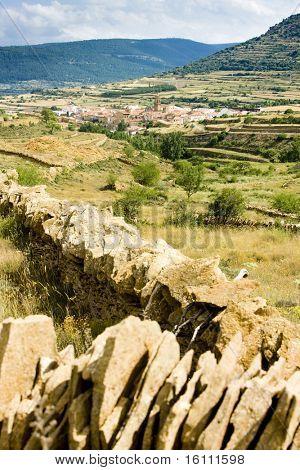 La Iglesuela del Cid, Teruel Province, Aragon, Spain poster