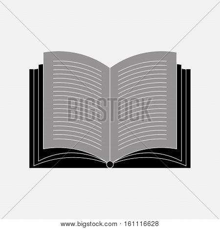 icon open book, icon book, reading books, learning, reading, fully editable vector image