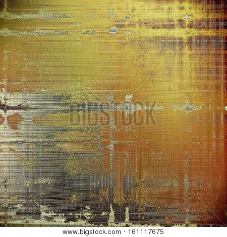 Retro background, antique texture for abstract vintage design composition. With different color patterns: yellow (beige); brown; gray; red (orange); black
