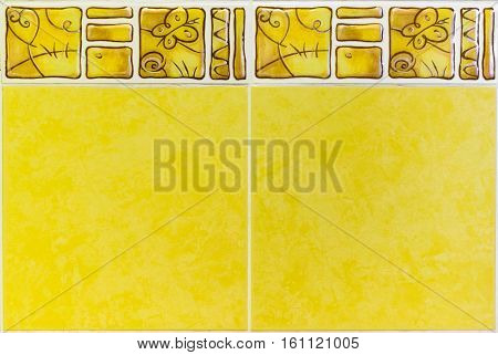 Interior Or Kitchen Bathroom Wall Ceramic Tiles Decorative Liner Border.