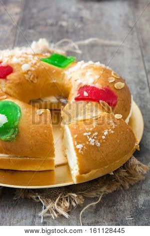 Spanish typical epiphany cake