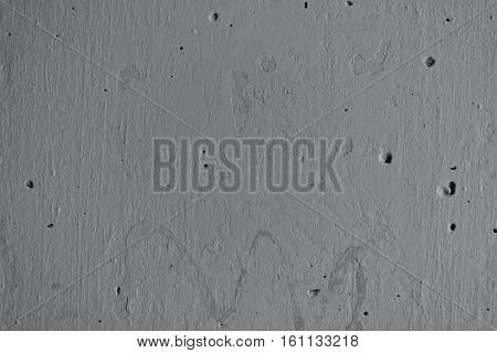 Plaster, gray plaster on a concrete wall. Stucco gray wall background or texture. Plaster texture, plaster background. Gray wall, gray background. Color plaster.