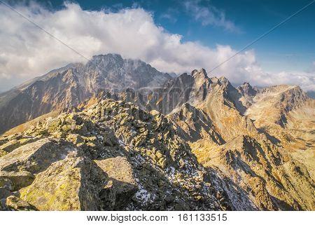 Rocky Peak In Slovakia