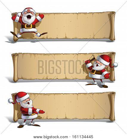 Happy Santas Papyrus - Celebrating & Presenting Set