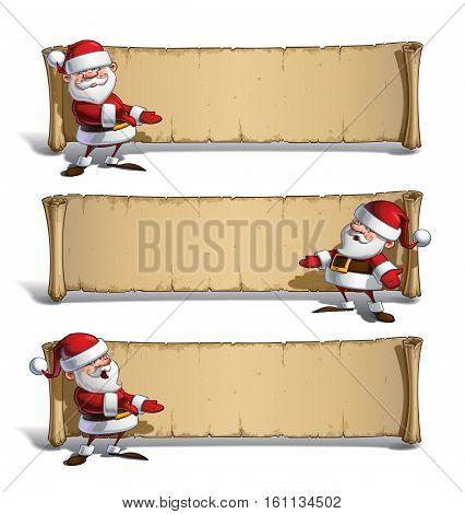 Happy Santas Papyrus - Presenting Set