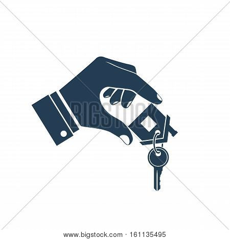 House Key In Hand Icon