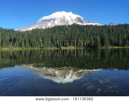 Reflection Lake  Mount Rainier National Park