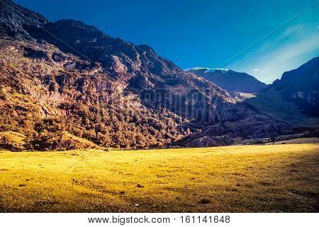 Sunny Day In Peru