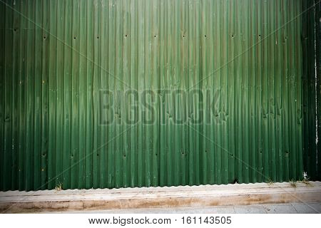 Rusted galvanized iron plate and photo stock