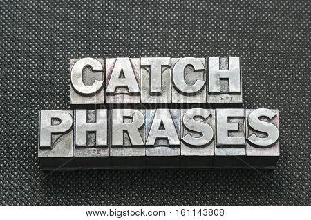 Catch Phrases Bm