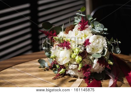 Wedding Flowers Bouquet Made In Rustic Style