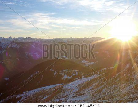 Hofpurgl Hutte Mountain Hut In Austrian Alps