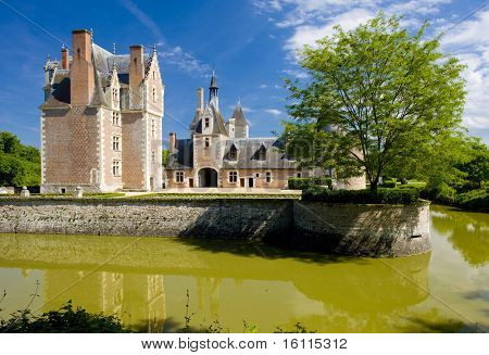 Chateau du Moulin, Lassay-sur-Croisne, Centre, France poster