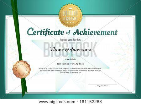 Modern Certificate Vector Photo Free Trial Bigstock