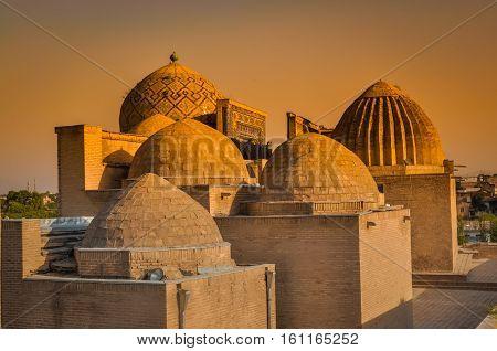 Brick Houses In Uzbekistan