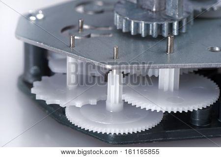 Simple Clockwork With Plastic Gears
