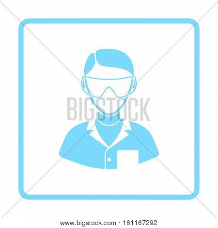 Icon Of Chemist In Eyewear