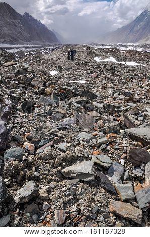 Rocky Terrain In Kyrgystan