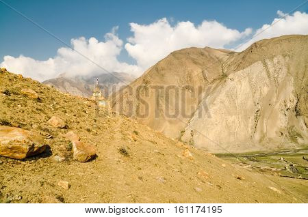 Mountain Range In Nepal
