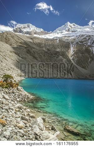 Lagoon In Peru