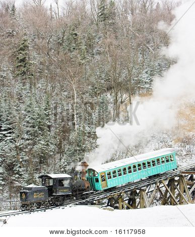 Mount Washington Cog Railway, Bretton Woods, New Hampshire, USA poster