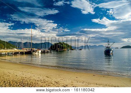 Sand Beach In Brasil