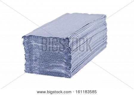 Paper Towels Isolated On White Background.
