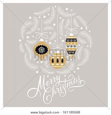 Christmas card, Christmas illustration