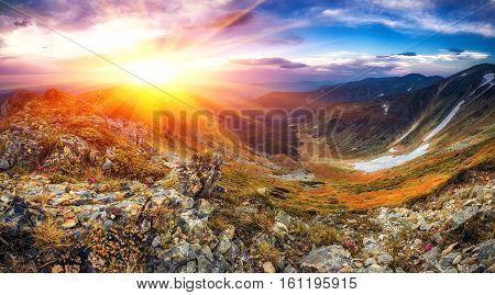 beautiful summer landscape, Europe mountains, Europe travel, beauty world
