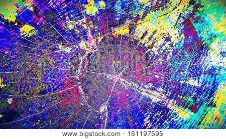 An abstract splash-paint and rough design pattern of a background image. Dec 2016