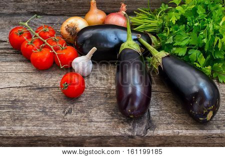produce, vegetarian, paprika, Vegetable set on a wooden background. Close-up, vegetarian paprika natural