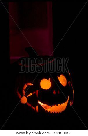 Halloween in Machias, Maine, USA