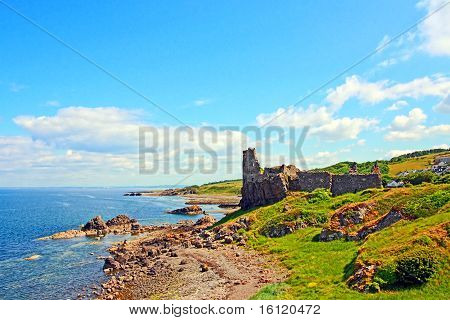 Ruins Of Dunure Castle