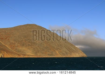 Cape Dezhnev, the easternmost point of Eurasia