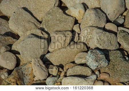 stones background pattern wall view old rock