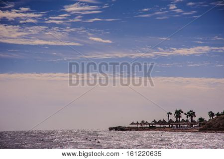 tropical red sea beach paradise egypt exotic view