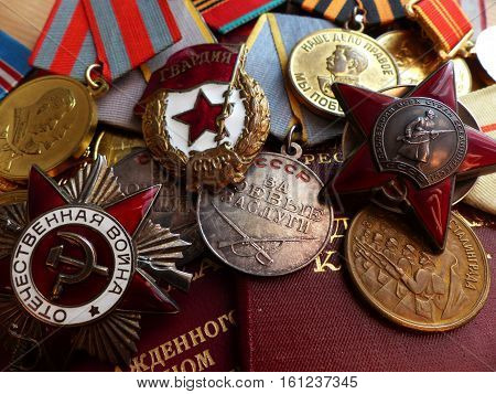May 9 - Victory Day. Order of the
