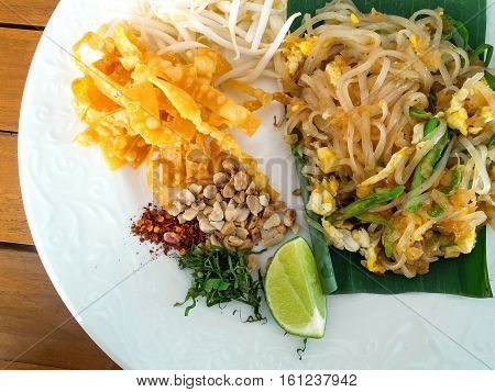 The Pad Thai Thailand delicious taste food