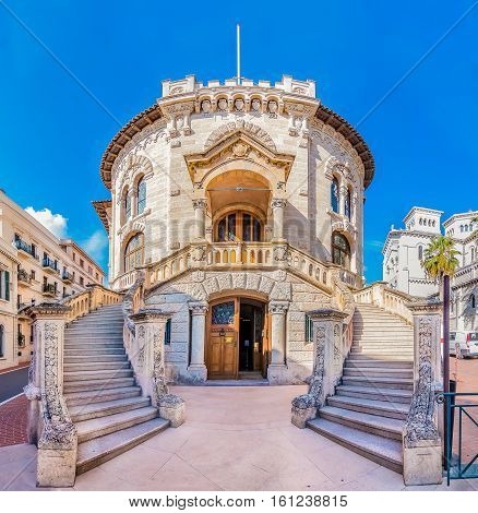 National Court House Of Monaco