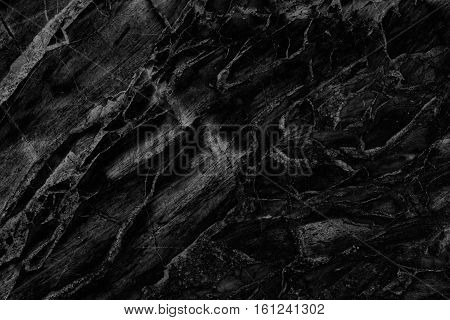 Beautiful Black Marble Texture Background