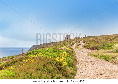St Agnes And Chapel Porth Atlantic Ocean, Cornwall