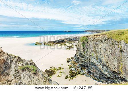 St Ives Atlantic Ocean Coast, Cornwall, England