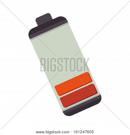 battery low level isolated icon vector illustration design